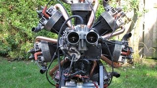 Download Making and start up of a radial engine of VW parts Video