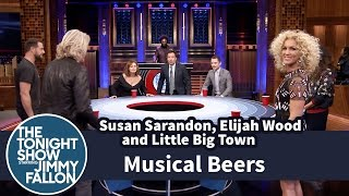 Download Musical Beers with Susan Sarandon, Elijah Wood and Little Big Town Video