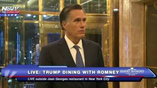 Download MUST WATCH: Mitt Romney Speaks To Media After Dinner With Donald Trump Video