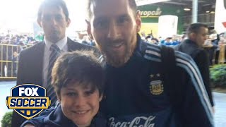 Download Lionel Messi just made this boy's year | FOX SOCCER Video