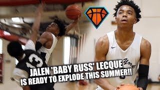 Download Jalen 'BABY RUSS' Lecque is READY TO EXPLODE THIS SUMMER!! | Spring Fling Highlights w/ NY Rens Video