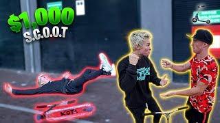 Download TANNER FOX VS DAKOTA SCHUETZ GAME OF SCOOT! *INTENSE* Video