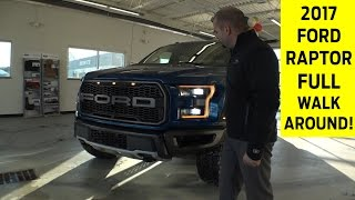 Download 2017 Ford Raptor Exterior & Interior Walkaround with Exhaust Note Video