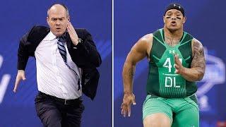 Download 'Run Rich Run': Rich Eisen vs. top prospects Video