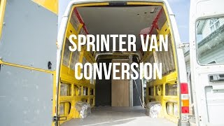 Download My Sprinter Van Conversion (the Ghetto Build Part 1) - Leftcoast Video