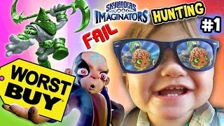 Download SKYLANDERS IMAGINATORS HUNTING Part 1: WORST BUY DAY 1!! Steel Plated Frustration Madness Chase Video