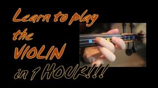 Download Learn To Play The Violin in 1 (one) Hour!! YES - in one whole hour!!! Video