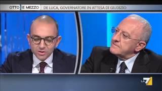 Download Otto e mezzo - De Luca, governatore in attesa di giudizio (Puntata 27/10/2015) Video