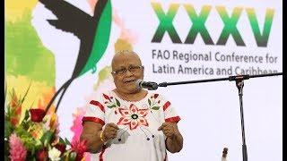 Download Discurso de Myrna Cunningham (FILAC) en ceremonia 40 años de las Representación FAO en ALC Video