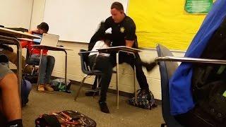 Download Cop Flips Black Student In Her Desk (VIDEO) Video
