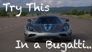 Download Koenigsegg Agera R owns Bugatti Veyron Video