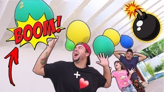 Download DESAFIO DA BEXIGA GIGANTE SURPRESA (EXPLODE BALÃO)t Video