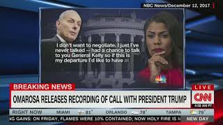 Download Omarosa's recording of being fired by John Kelly Video