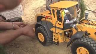 Download RC Trucks, RC Camiones, RC Fahrzeuge, rc excavator, maquinas rc Video