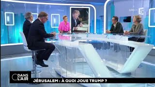 Download Jérusalem : à quoi joue Trump ? #cdanslair 07.12.2017 Video
