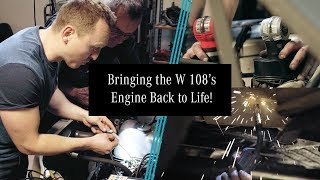 Download Project Retro Rally: Behind the Build (E4)   Mercedes-Benz Classic Car Restoration with Car Throttle Video