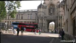 Download Oxford England - City of Dreaming Spires in HD Video