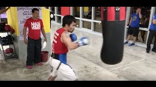 Download Manny Pacquiao Boxing Workout - October 20 | Pacquiao vs Vargas | #TeamLegend Video
