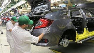 Download 2017 Honda Civic Sedan - PRODUCTION Video