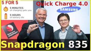 Download Qualcomm unveils 10nm Snapdragon 835 Mobile Processor with Quick Charge 4.0 Video
