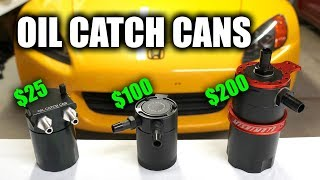 Download Do Oil Catch Cans Actually Work? Video