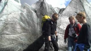 Download Blue Ice Experience Glacier Walk in Skaftafell Video