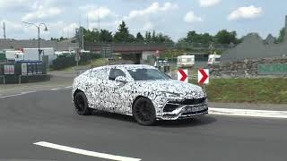 Download Hear the 2018 Lamborghini Urus Roar In This New Spy Video Video
