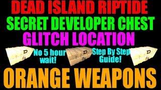 Download Dead Island Riptide | Secret Developers Chest Location | Guaranteed Orange Weapons (No 5 Hours!) Video