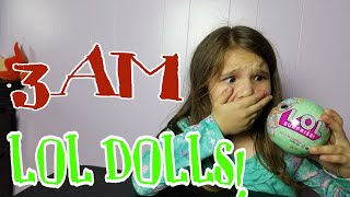 Download Opening LOL Dolls At Night! OMG Video