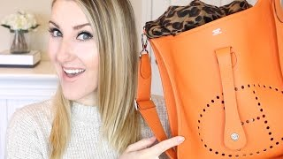 Download WHAT'S INSIDE MY HERMES BAG?!? ...and best touch-up trick ever. Video