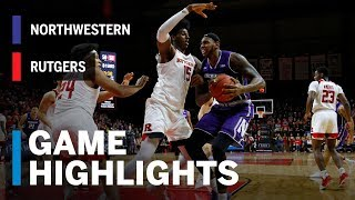 Download Highlights: Northwestern at Rutgers | Big Ten Basketball Video
