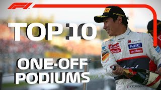 Download Top 10 One-Off Podiums in F1 Video