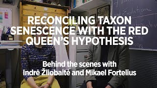 Download Reconciling taxon senescence with the Red Queen's Hypothesis – Behind the scenes Video