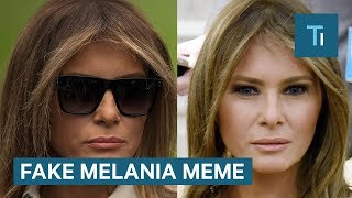 Download Here's why people think Melania Trump was replaced by a body double — and why they're wrong Video