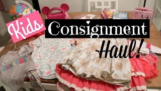Download Huge Kids Consignment Haul! Video