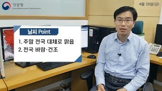 Download [날씨터치Q] 2017년 04월 28일 Video