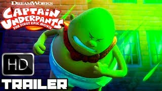 Download Captain Underpants All New Clips & Trailers (2017) Animated Movie HD Video