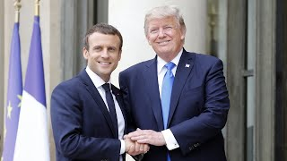 Download Is the Trump-Macron bromance on? Video