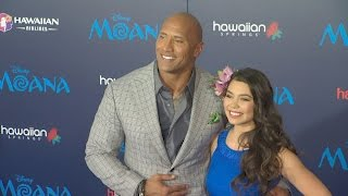 Download Moana World Premier featuring The Rock and Auli'i Cravalho Video
