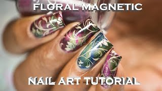Download Floral Magnetic Nail Art Tutorial (Chez Delaney) Video
