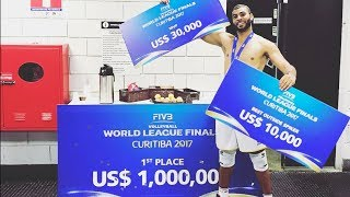 Download TOP 10 Crazy Actions by Earvin N'Gapeth | MVP World League 2017 Video