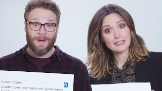 Download Seth Rogen & Rose Byrne Answer The Web's Most Searched Questions | WIRED Video