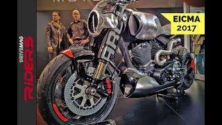 Download $100K+ Keanu Reeves Motorcycle Unveil & Start-up Video