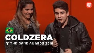 Download Coldzera vence prêmio na The Game Awards 2016 (Legendado) Video