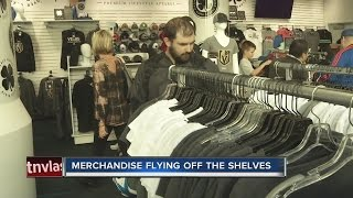 Download Vegas Golden Knights merchandise flying off the shelves Video