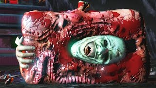 Download Mortal Kombat XL - All Fatalities On Leatherface Video