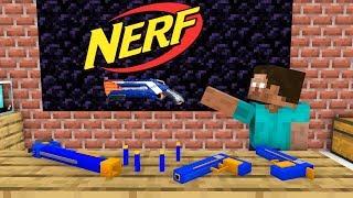 Download Monster School: NERF WAR Challenge - Minecraft Animation Video