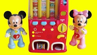 Download Learn shapes directions Mickey Mouse Clubhouse drinks snacks vending machine 自動販売機 Video