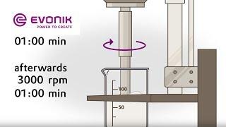 Download Defoamer Test in Polymer Emulsion - Stir Test Method | Evonik Video