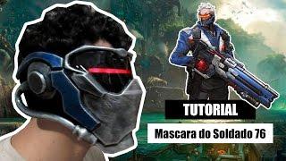 Download D.I.Y Como fazer a mascara do Soldado 76 (Overwatch) - Kmaker Tutorial Video